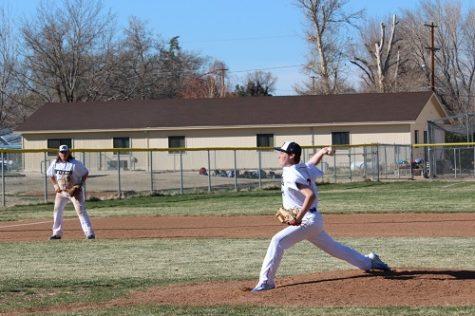 Bronco Baseball Downs Rebels in Home Opener