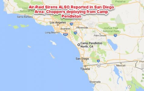 Air Raids called along the West Coast