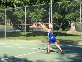 Bishop Tennis Fights Hard Against Rosamond