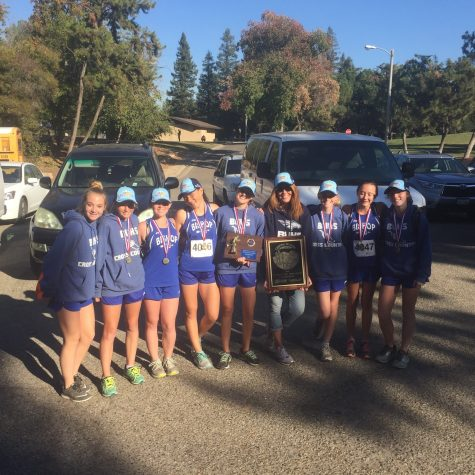 Broncos Cross Country Girls Win first at CIF Division 4