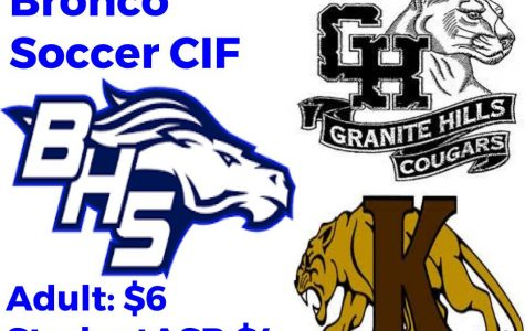 Broncos Moving on to CIF
