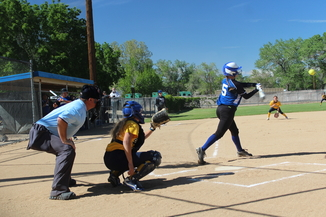 Senior Haley Hersley vs. Kern Valley