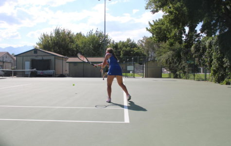 BUHS Tennis Hosts HDL Individual Finals