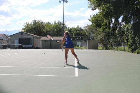 Bronco Tennis Takes on Desert