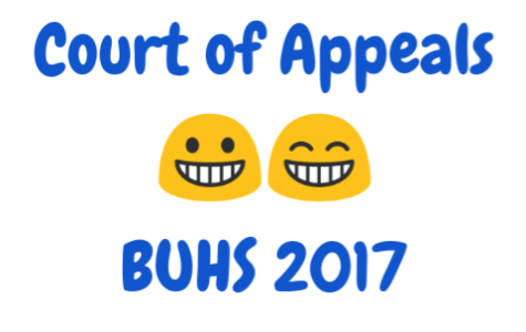 Court of Appeals to Be Held in BUHS Auditorium