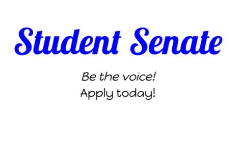 Student Senate Application Deadline This Friday!
