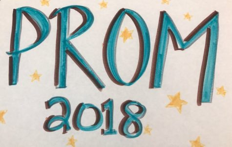 Prom 2018 Spirit Week! Poster by ASB, picture by Paige Lary
