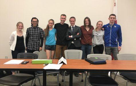 Student Senate Report, April 2018
