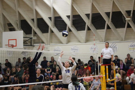 Varsity Volleyball Playoff Game