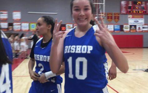Bishop Girls Varsity Basketball vs. Mammoth