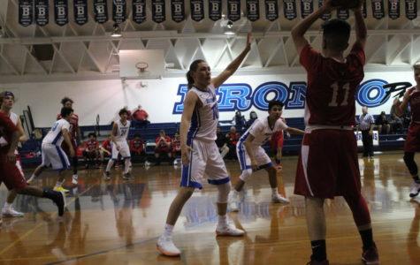 Varsity Boys Drop a Close Game to Rosamond