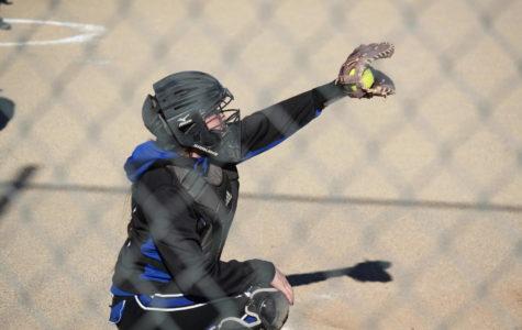Varsity Softball Against Rosamond