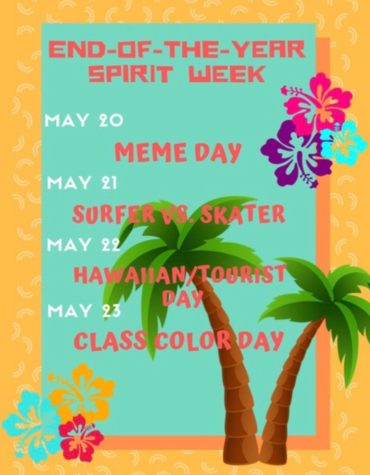 End of the Year Spirit Week