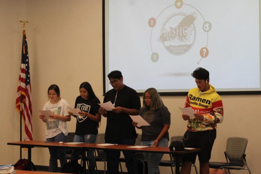 Eve Dondero, Uriah Martinez, Garret Martinez, HaiWee Fredericks, Tristen Valle