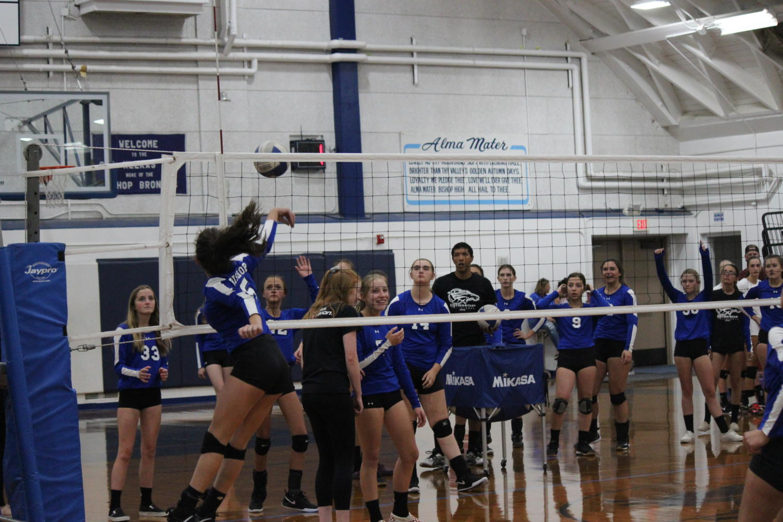 BUHS+JV+and+Varsity+Volleyball