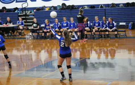 JV Volleyball Squashes the Scorpions