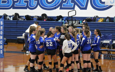 JV Volleyball is on Fire