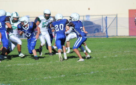 JV Football Crushes the Chieftans