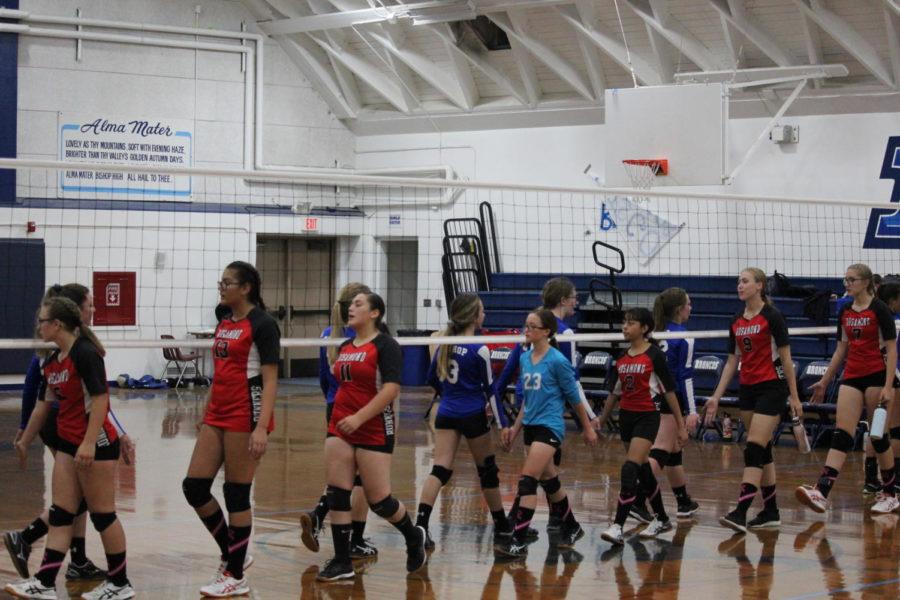 JV+Volleyball+team