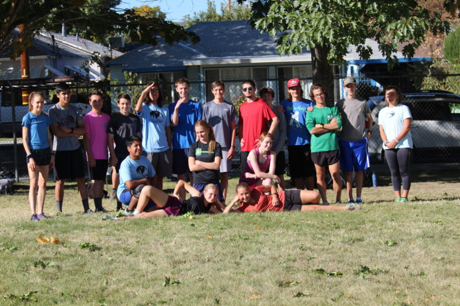 Cross Country Group Photo
