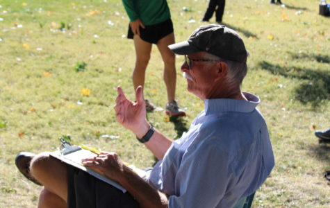 Cross Country coach Michael Walsh.