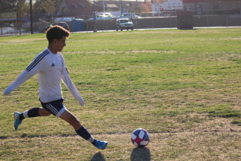 Boys Soccer Ties The Enemy