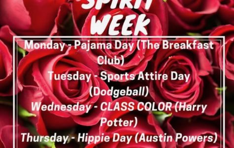 Spirit Week 10/21 - 10/25