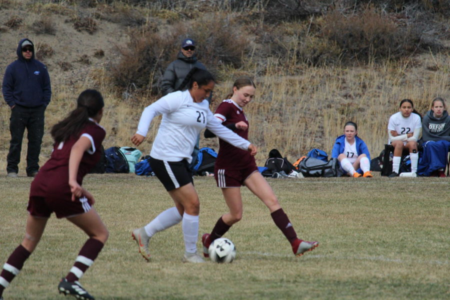 Varsity Soccer Girls: Broncos vs Mammoth November 19