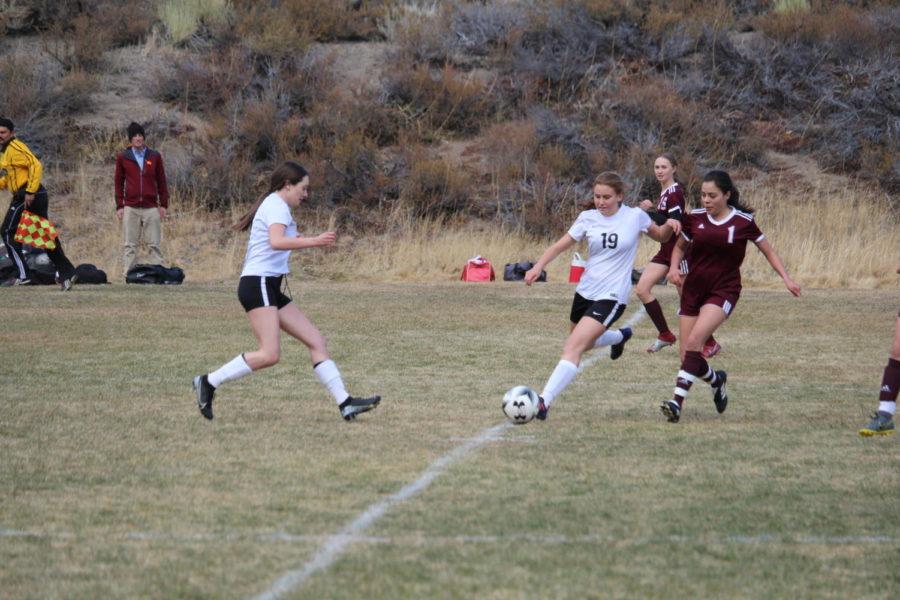 #5 Hannah Miller #19 Haley Yarborough