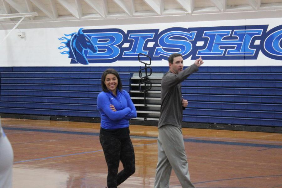 Coach Ben and coach Shiloh