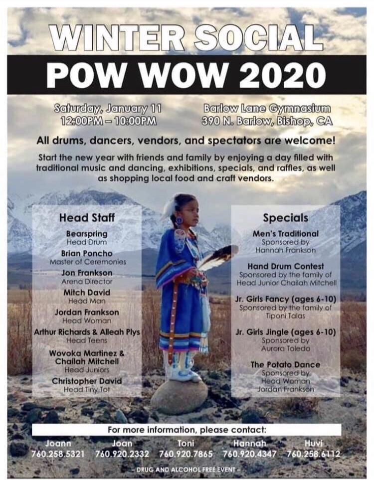 2020 Winter Social Powwow