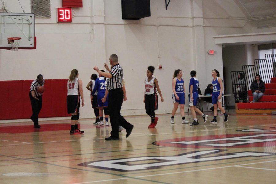 Varsity girls basketball Bishop vs Rosamond