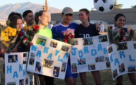 Varsity Soccer Seniors