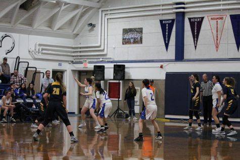 JV Girls Basketball vs. Kern Valley