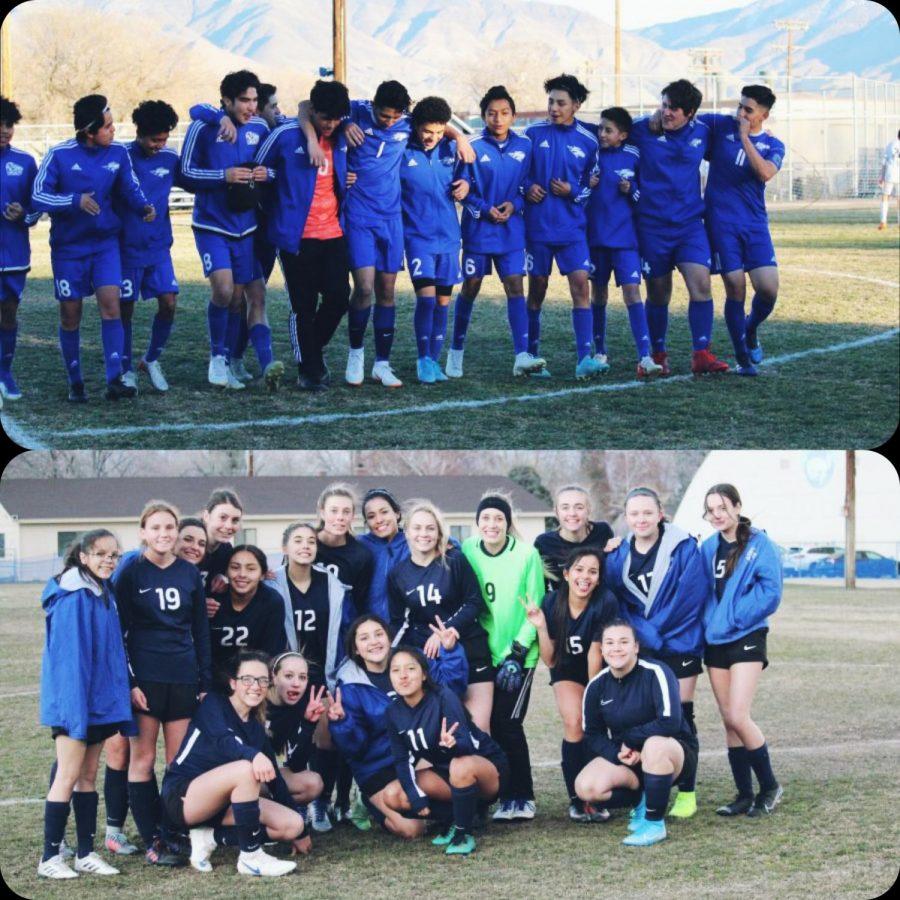 Varsity soccer teams