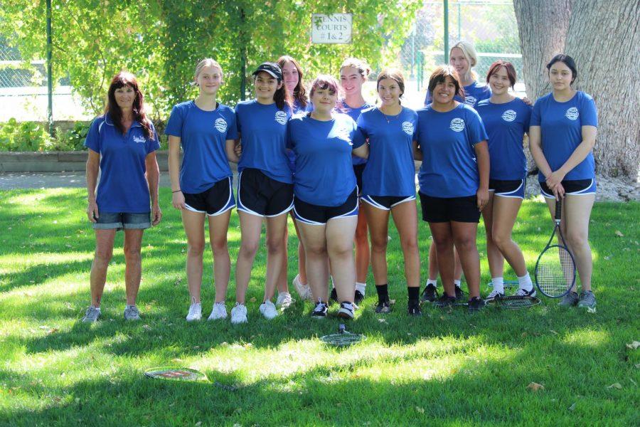 Bishop Girls Tennis Wins Their First League Match Against Rosamond
