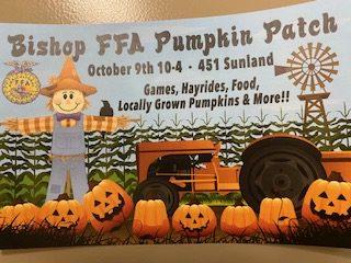 FFA Pumpkin and Haunted Swamp